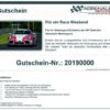Adrenalin Renntaxi Race Weekend