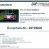 Adrenalin Renntaxi Race Weekend